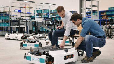 Photo de Les Lillois d'Exotec Solutions lèvent 15 millions d'euros pour robotiser les entrepôts des retailers et des e-commerçants
