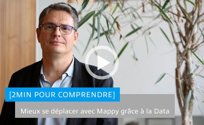 Photo de [2 min Pour Comprendre] Mieux se déplacer avec Mappy grâce à la data