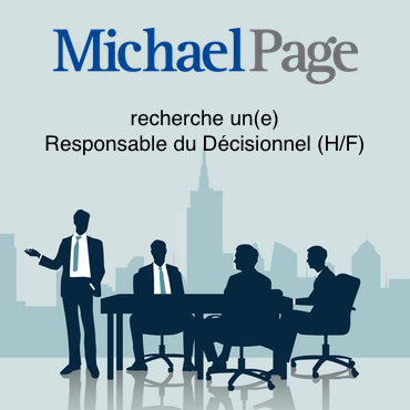 Michael Page recherche un Responsable du Decisionnel