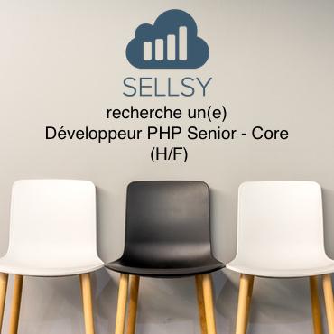 Sellsy recrute un Développeur PHP Senior – Core
