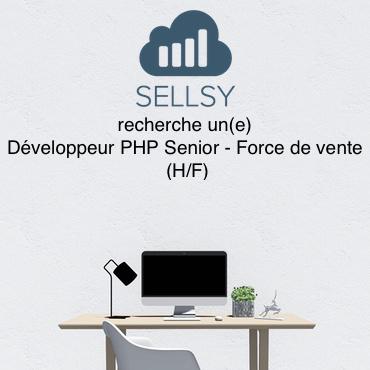 Sellsy recrute un Développeur PHP Senior – Force de vente