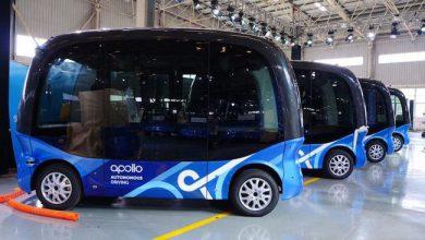 Photo de Le géant de l'internet chinois Baidu lance la production de ses minibus autonomes
