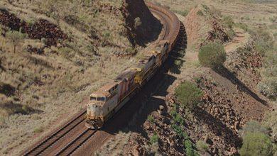 Photo de Rio Tinto réalise la première livraison de minerai de fer par train autonome