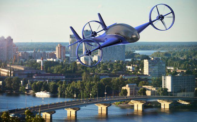Uber et Airbus aident le Japon — Voitures volantes