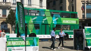Photo de BNPParibas invite les entrepreneurs de France à monter à bord du bus #LancezVous dans 8 grandes villes de l'hexagone