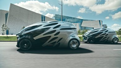 Photo de Vision Urbanetic, le concept-car de Mercedes, autonome et à la carrosserie interchangeable