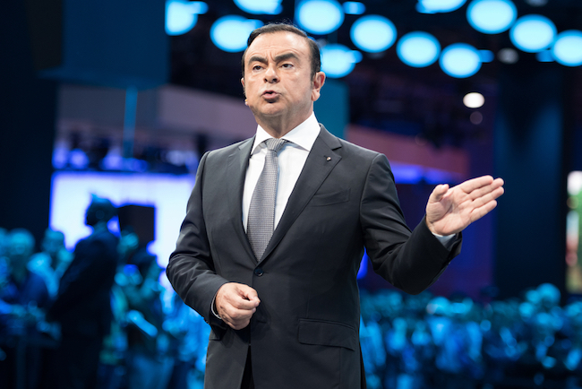 Carlos Ghosn (Renault-Nissan-Mitsubishi) ne voit pas Google comme une menace