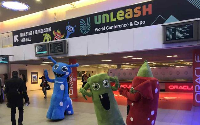 Photo de #UNLEASH18 Jour 2 : un petit tour du côté des éditeurs et des startups