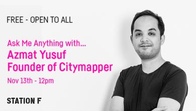 Photo de Ask Me Anything avec Azmat Yusuf, Fondateur et CEO de Citymapper
