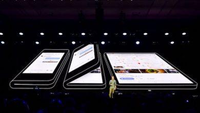 Photo de Samsung promet le «smartphone de demain» avec son écran pliable