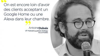 Photo de Antoine Dubois, AccorHotels : « On est encore loin d'avoir des clients acceptant un Google Home ou une Alexa dans leur chambre.  »