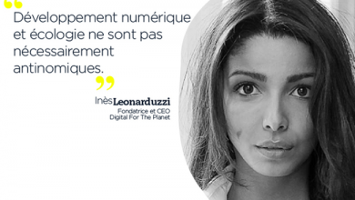 Photo de Inès Leonarduzzi, CEO de Digital For The Planet : « Développement numérique et écologie ne sont pas nécessairement antinomiques »