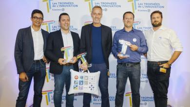 Photo de Les Trophées de l'Innovation E.Leclerc récompensent la startupPhénix, pour son outil qui permet aux grandes surfaces de gérer leurs invendus.
