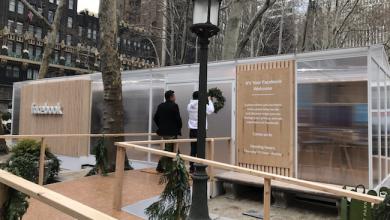 Photo de Facebook en opération séduction à New York après une année noire