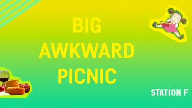 Photo de [STATION F] BIG Awkward Picnic !