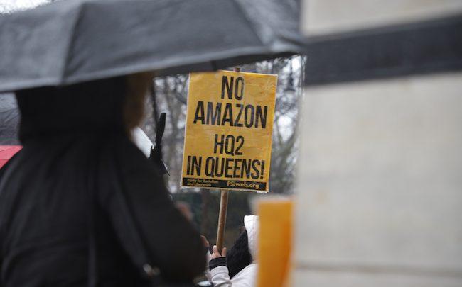 Amazon renonce à son siège new-yorkais