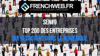 Photo de [FWEEK Outils RH] Le Top 200 des entreprises qui recrutent dans le numérique en 2019
