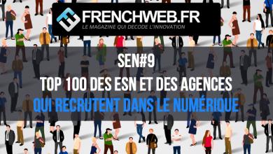 Photo de Le Top 100 des Entreprises de Services du Numérique et des Agences qui recrutent en 2019