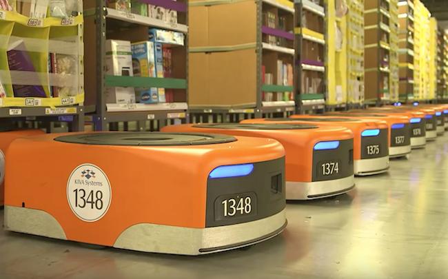 """Les robots """"travailleurs"""" d'Amazon, avant-goût du futur ? - FrenchWeb.fr"""