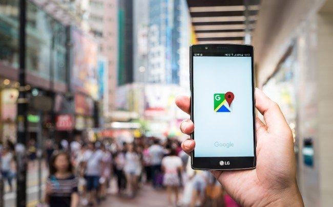 Google Maps teste la navigation en réalité augmentée