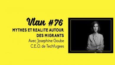Photo de Mythes et réalités autour des migrants avec Joséphine Goube, CEO de Techfugees