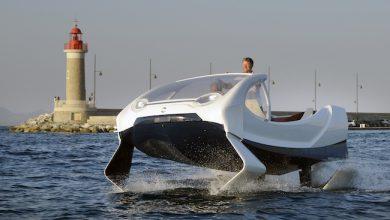Photo de Les «bateaux volants» de SeaBubbles passent sous pavillon étranger