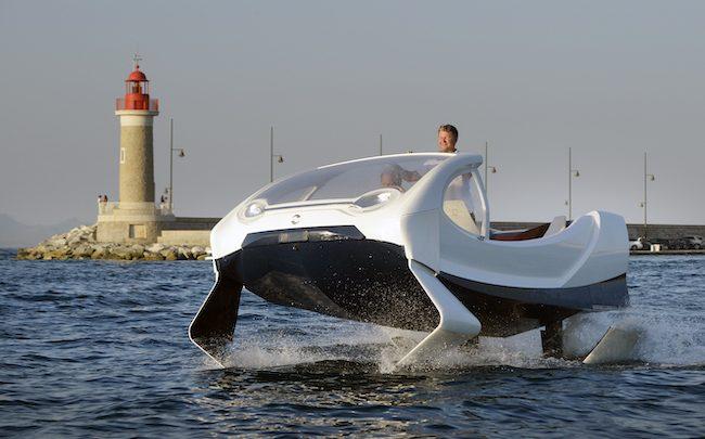 Les «bateaux volants» de SeaBubbles passent sous pavillon étranger -  FrenchWeb.fr