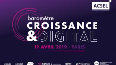 Photo de [ACSEL] La 3ème édition du Baromètre Croissance & Digital