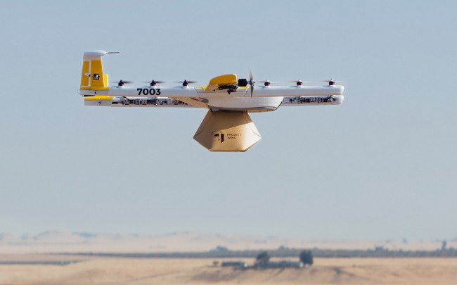 Wing (Google) devient la première startup à livrer par drones aux Etats-Unis