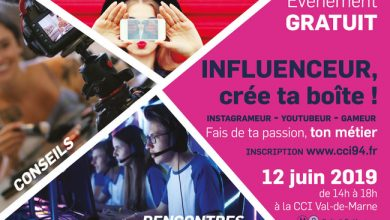 Photo de [CCI Val-de-Marne] Influenceur, Youtubeur, fais de ta passion ton métier