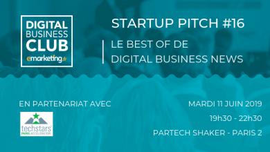 Photo de [Startup Pitch #16] Le Meilleur du Digital Business Club