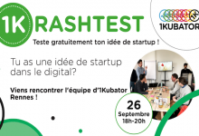 Photo de [1Krashtest#6] Viens pitcher ton projet de startup digitale à 1kubator Rennes