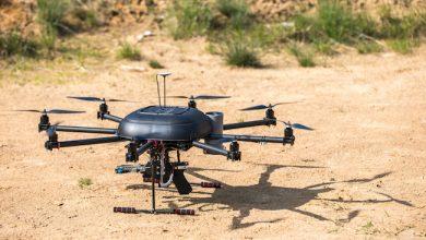 Photo de Aux frontières d'Israël, la rivalité des drones