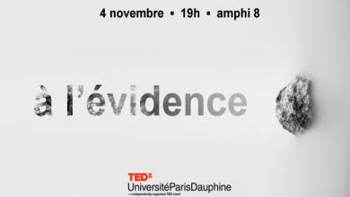 Photo de Quelles évidences pour demain? – Une conférence TEDx à l'Université Paris Dauphine