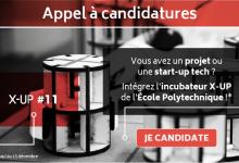 Photo de [Appel à candidatures] Rejoignez X-UP, l'incubateur de start-up deeptech de l'École polytechnique