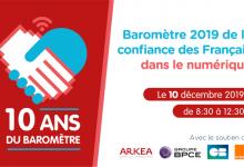 Photo de Les 10 ans du Baromètre de la Confiance des Français dans le numérique