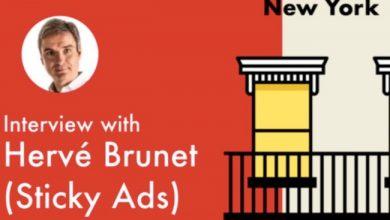 Photo de [Oui Are New York] Hervé Brunet (Sticky Ads): première boîte vendue à Comcast pour 110 millions de dollars