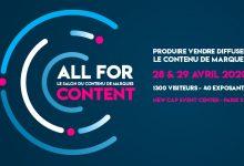 Photo de 3ème édition d'All for Content, le salon du contenu de marques
