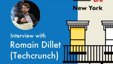 Photo de [Oui Are New York] Comment Romain Dillet (TechCrunch) a placé les startups françaises sur le radar des Américains