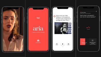 Photo de Aria, nouvelle plateforme de l'Opéra de Paris soutenue par Huawei