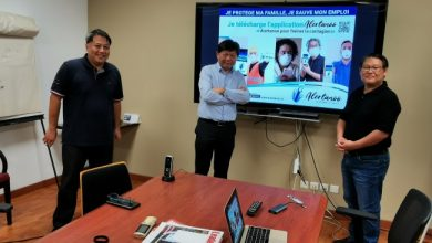 Photo de Covid-19 : lancement de l'appli d'alerte Alertanoo à la Réunion