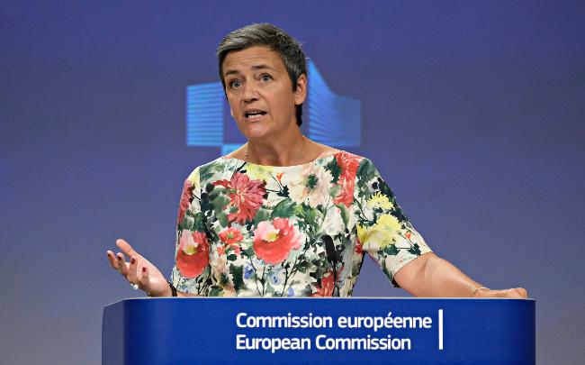 Margrethe Vestager vice-présidente de la Commission européenne. Crédit: Shutterstock