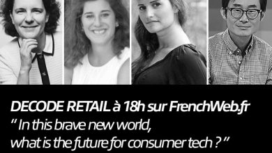 Photo de DECODE Retail à 18 H avec Carole Juge-Llewellyn, Aurore Falque Pierrotin, Odile Roujol et William Hsu