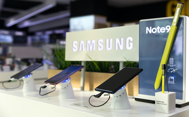 Samsung enregistre un bond de son bénéfice net