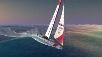 Photo de IA: Accenture fait concourir son voilier sans pilote au Vendée Globe virtuel