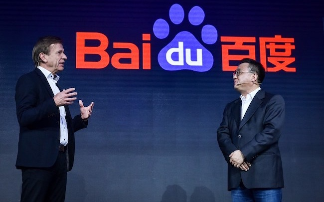 Voiture autonome: le géant chinois de l'Internet Baidu avance ses pions en s'alliant à la maison-mère de Volvo