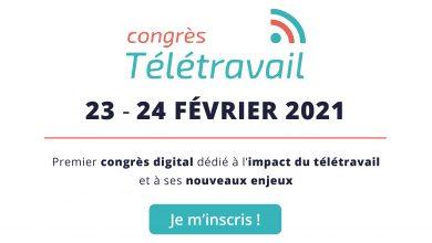 Photo de [Evénement Virtuel] Premier congrès digital dédié à l'impact du télétravail et à ses nouveaux enjeux