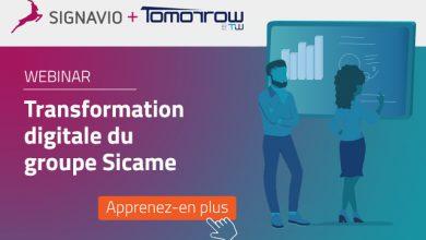 Photo de [Webinar] Accélération de la transformation digitale par les processus: exemple pratique du groupe Sicame
