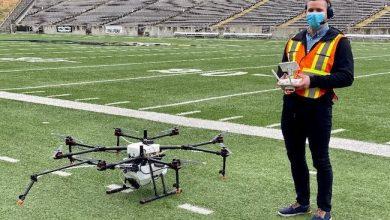 Photo de CES: Drones désinfectants, masques intelligents… quelles sont les dernières innovations anti-Covid?