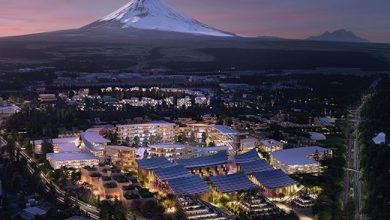 Photo de Toyota amorce le développement de sa smart city au pied du Mont Fuji